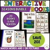 Functional Interactive Adapted Books*4 SEASONS BUNDLE*Auti