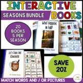 SEASONS BUNDLE of Interactive Adapted Books for Special Education