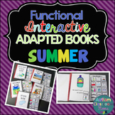 Summer Interactive Adapted Books for Autism and Special Education