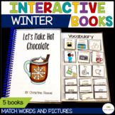 Winter Interactive Books for Autism & Special Education Cl