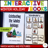 Interactive Books About Christmas, Hanukkah and Kwanzaa for Special Education