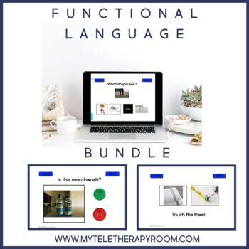 Functional Language Bundle (Boom Cards) (No Print)