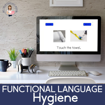 Functional Language: Hygiene (Boom Cards) (No Print)