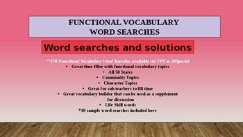 Functional Life Skills Assessment