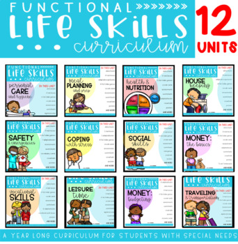 Functional Life Skills Curriculum BUNDLE  {for students with special needs}