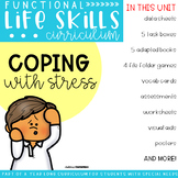 Functional Life Skills Curriculum {Coping Skills}