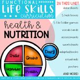 Functional Life Skills Curriculum {Health & Nutrition} Printable and Digital