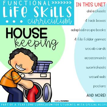 Functional Life Skills Curriculum {HouseKeeping}