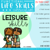 Functional Life Skills Curriculum {Leisure Skills}