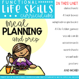 Functional Life Skills Curriculum {Meal Planning & Prep}