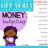 Functional Life Skills Curriculum {Money: Budgeting} Printable & Digital