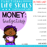 Functional Life Skills Curriculum {Money: Budgeting}