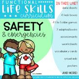 Functional Life Skills Curriculum {Safety & Emergencies} Printable & Digital