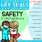 Functional Life Skills Curriculum {Safety & Emergencies}