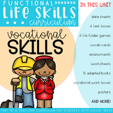 Functional Life Skills Curriculum {Vocational Skills}