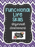 Functional Life Skills Informal Assessment