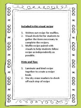 Functional Literacy Apple Cinnamon Muffin Recipe