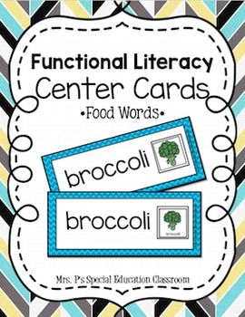 Functional Literacy Center- Food
