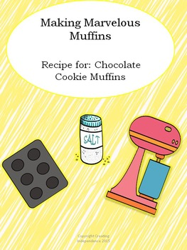 Functional Literacy Muffin Recipe