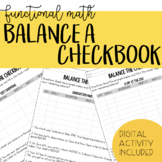 Balancing a Checkbook - Functional Math, Life Skills