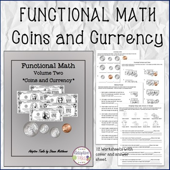 FUNCTIONAL MATH Coins and Currency