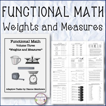 Functional Math Weights and Measures