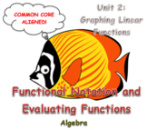 Functional Notation and Evaluating Functions