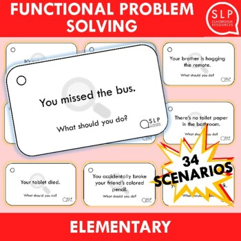 Functional Problem Solving (Elementary/Life skills) - Speech Therapy