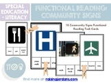 Functional Reading: Community Sign Recognition Task Cards