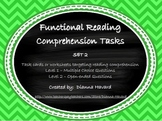 Functional Reading Comprehension Set 2
