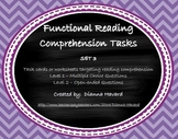 Functional Reading Comprehension Set 3