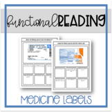 Functional Reading: Medicine Labels