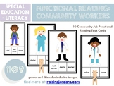 Functional Reading Task Cards: Community Workers