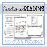 Functional Reading: Tickets & Receipts