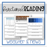 Functional Reading - Weather and News