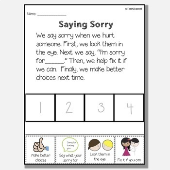 Functional Sequencing Pack for Special Education