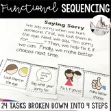 Functional Sequencing Pack for Special Education - great for distance learning
