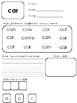 Functional Sight Words - Level 1 - Words 1 to 50