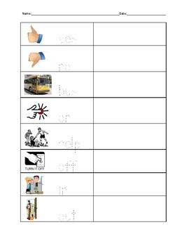 Functional Sight Words Trace and Write