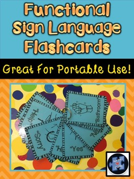 Functional Sign Language Flashcards