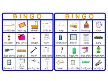 Functional Skills: Bathroom Vocabulary Games