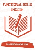 Functional Skills English  E3 Practice Reading Test / Questions with Answers