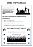 Functional Skills English Email Writing Task & Writing Template E3 & L1