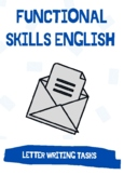 Functional Skills English / GCSE - Letter Writing: 3X Letter Writing Tasks