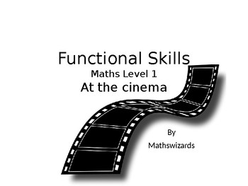 Functional Skills Math: At the Cinema