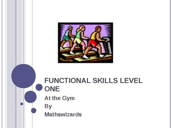 Functional Skills Math: At the Gym