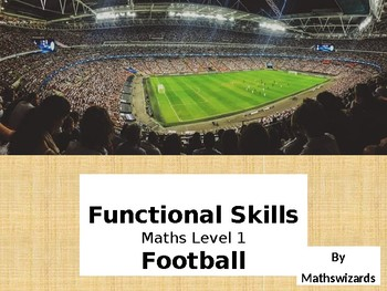 Functional Skills Math: Football