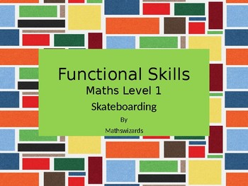 Functional Skills Math : Skateboarding