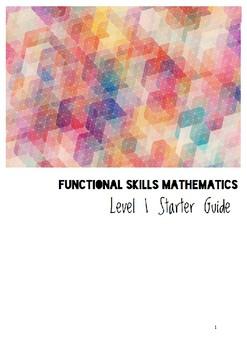 Functional Skills Maths Level 1 Starter Guide