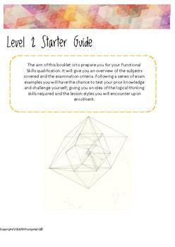 Functional Skills Maths Level 2 Starter Guide